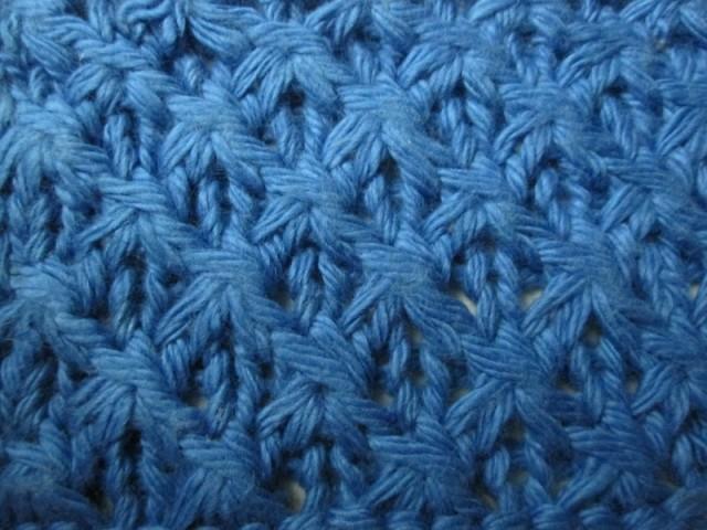 Узоры для вязания на спицах: узор звездочка