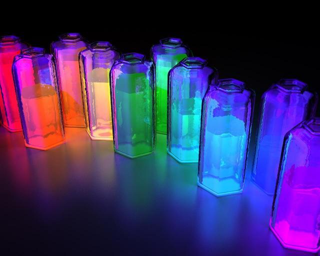 Как сделать светящуюся воду - Краску - Шнурки - Видео советы из подручных средств