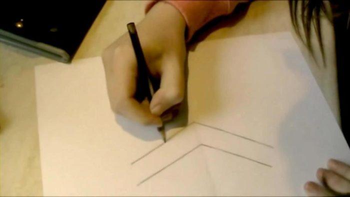 3d-рисунок на бумаге карандашом: фото 1