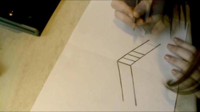 3d-рисунок на бумаге карандашом: фото 2