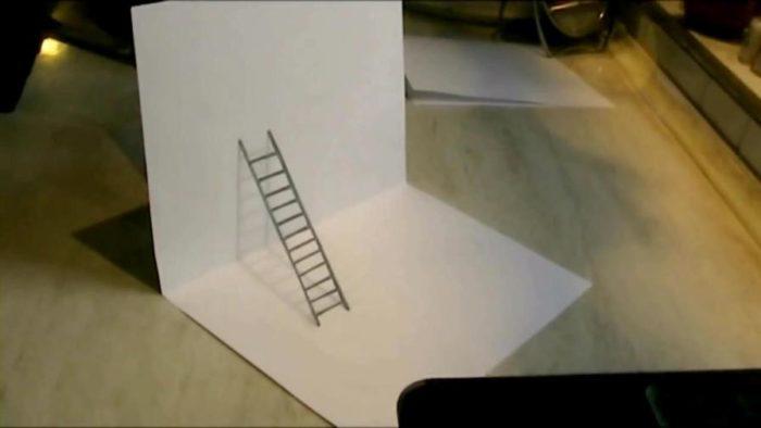 3d-рисунок на бумаге карандашом: фото 5