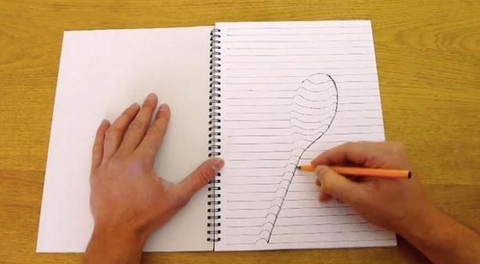 Учится рисовать 3d рисунки на бумаге поэтапно