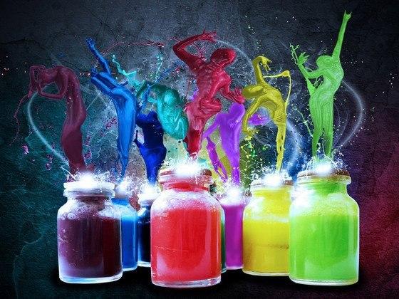 Делаем светящиеся краски в домашних условиях