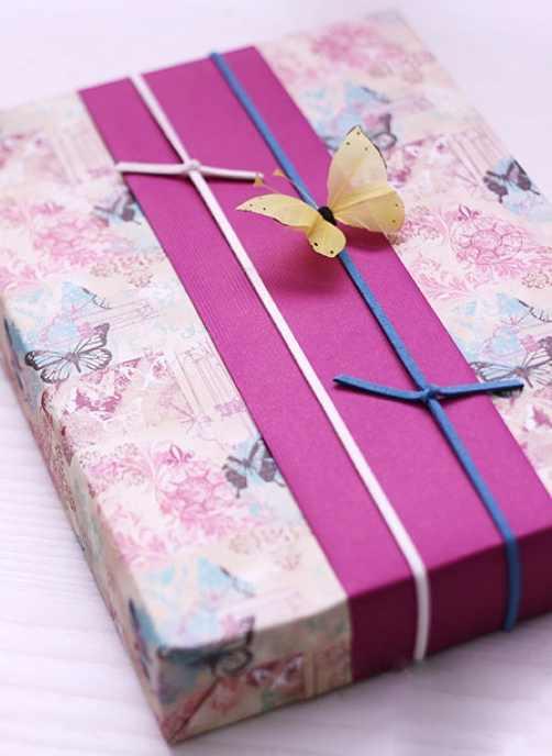 Как упаковать подарок в подарочную бумагу?