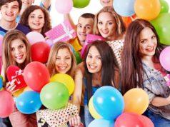 Веселый День рождения для подруги