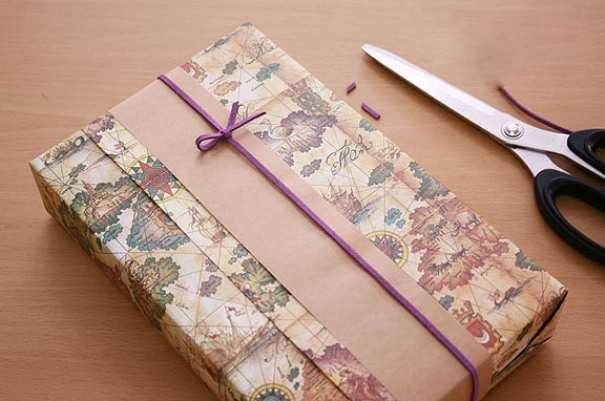 Как упаковать подарок своими руками: фото 7