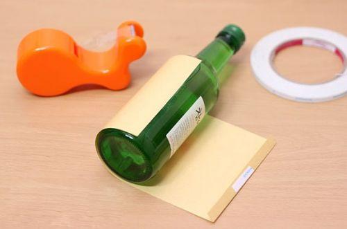 Как красиво упаковать бутылку (1)