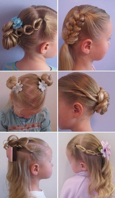 Косички для девочек на длинные волосы: вариант 2