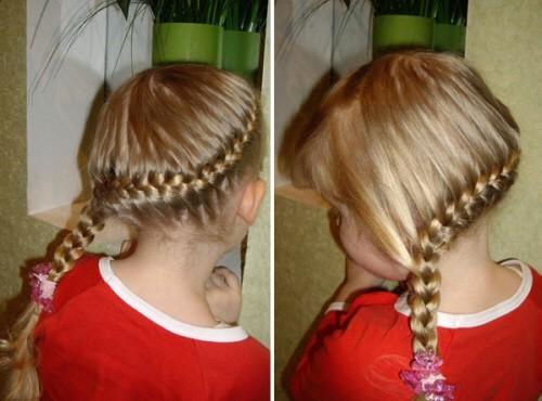 Косички для девочек с пошаговыми фото: французская коса
