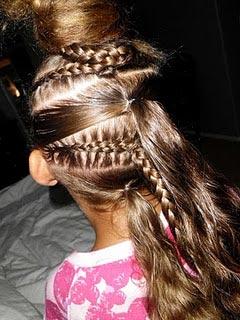 Оригинальные косы для девочек