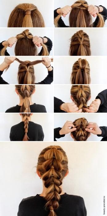Косички для девочек 50 вариантов: объемная коса
