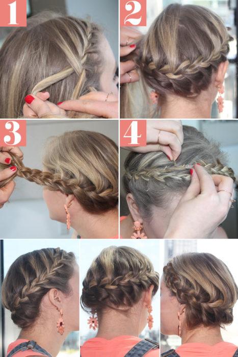 Косички для девочек 50 вариантов: французская коса