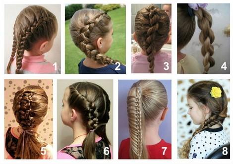 Косички для девочек на длинные волосы: 8 вариантов причесок