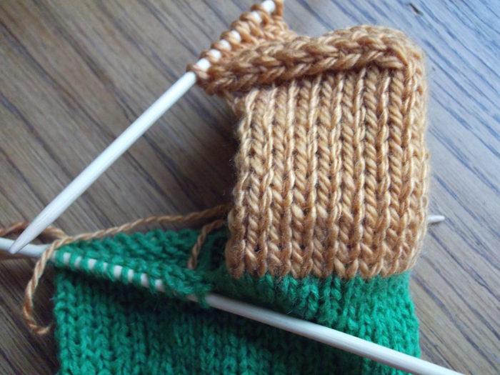 Как вязать носки спицами: пошаговый мастер класс 12