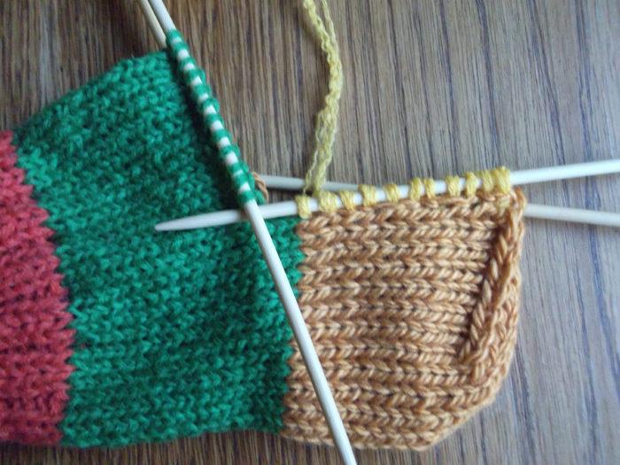 Как вязать носки спицами: пошаговый мастер класс 13