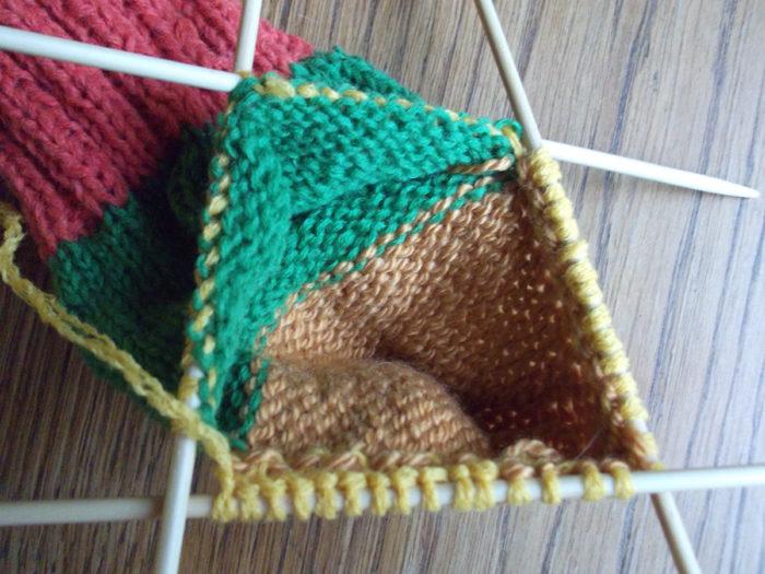 Как вязать носки спицами: пошаговый мастер класс 14