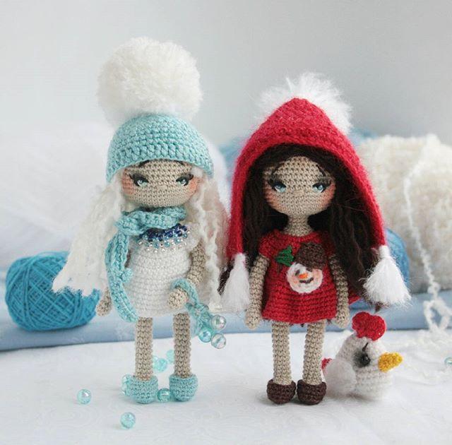 Игрушки крючком: невероятные куколки своими руками