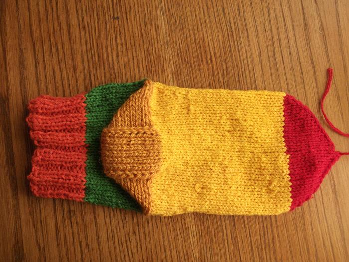 Как вязать носки спицами: пошаговый мастер класс 20