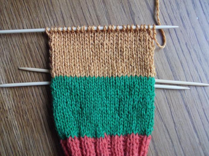 Как вязать носки спицами: пошаговый мастер класс 7