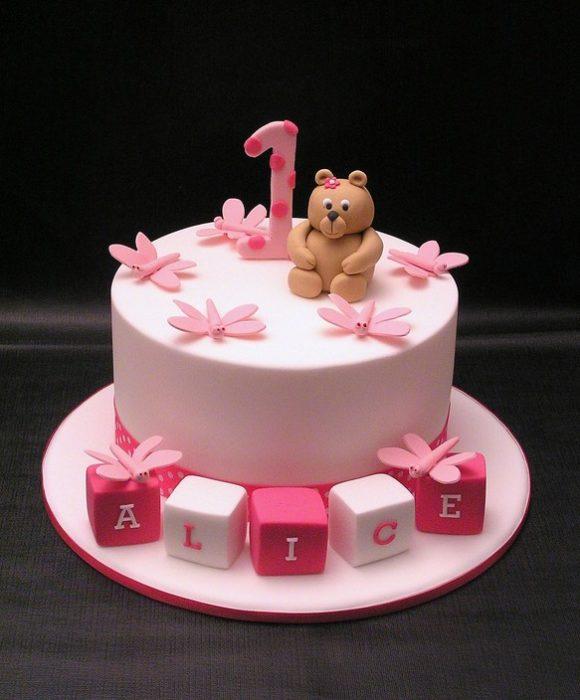 Как тпраздновать День рождения ребенка: праздничный торт