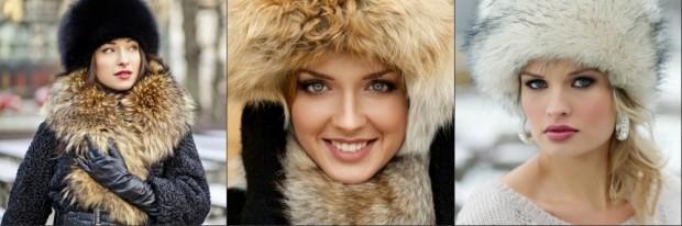 Головные уборы для женщин после 50 лет: меховые шапки