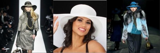 Головные уборы для женщин после 50 лет: широкие шляпы