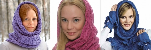 Головные уборы для женщин после 50 лет: шарфы-хомуты