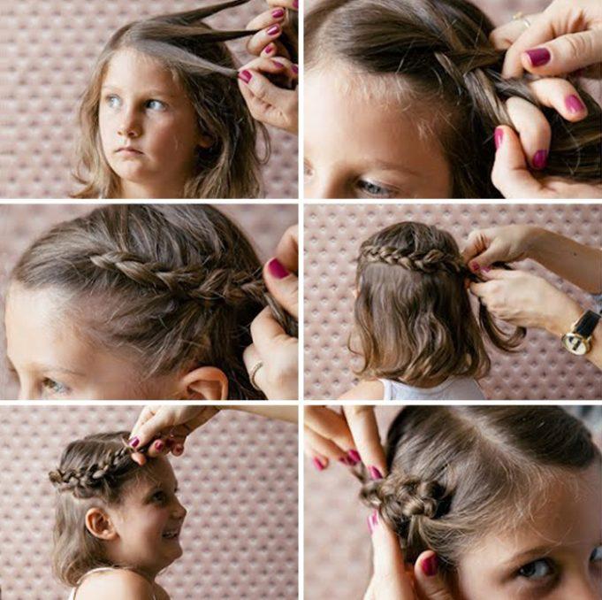 Колосок причёска