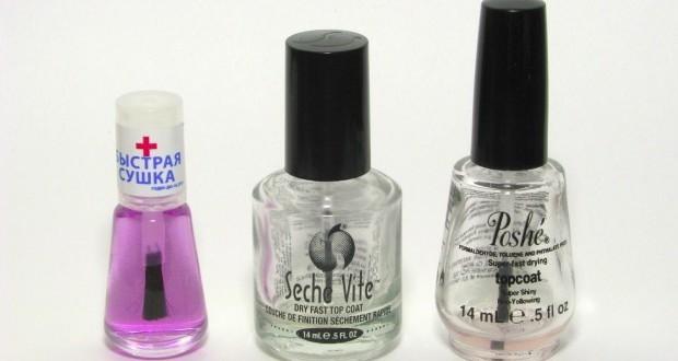 Как высушить лак для ногтей быстро?