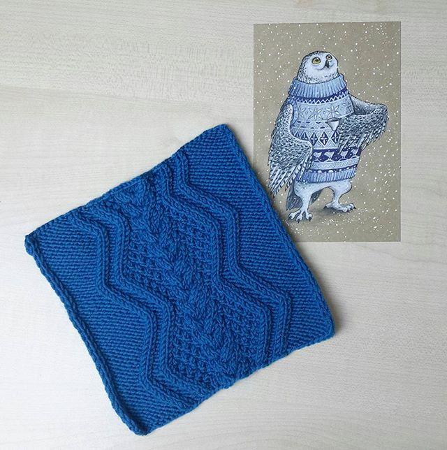 Узоры спицами с описанием: для мужского свитера