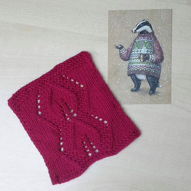 Узоры спицами с описанием: для женского свитера