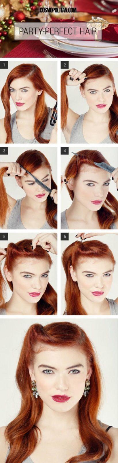 Повседневные прически на длинные волосы: укладка