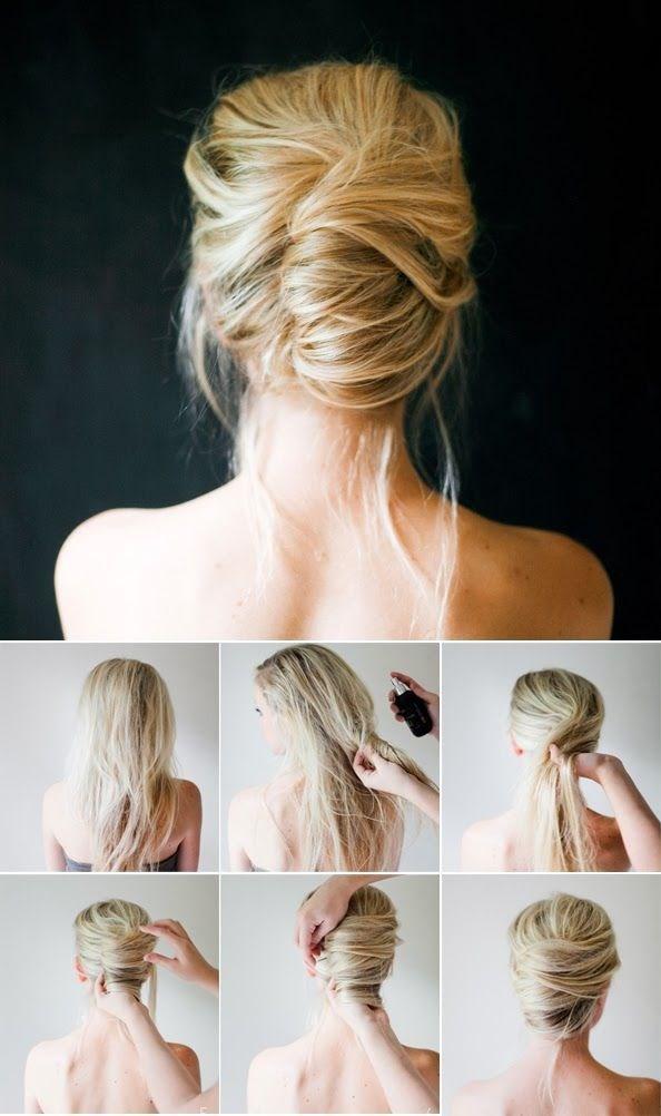 Деловые прически на длинные волосы