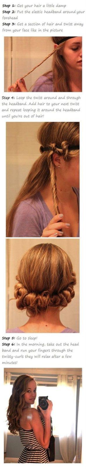 Прически на средние волосы в домашних условиях: локоны вручную