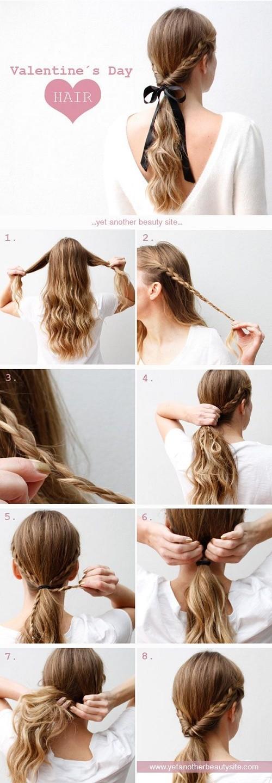 Прически на длинные волосы: эффектный хвост