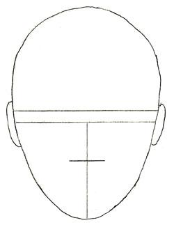 Как нарисовать лицо человека поэтапно (2)
