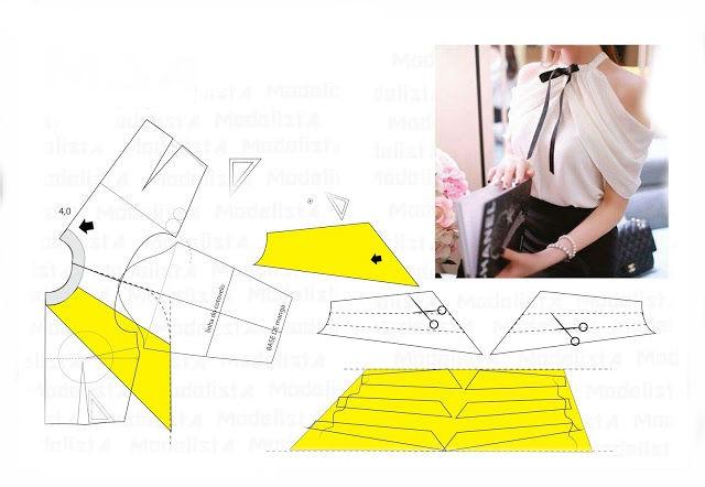 Выкройки блузок для начинающих (6)