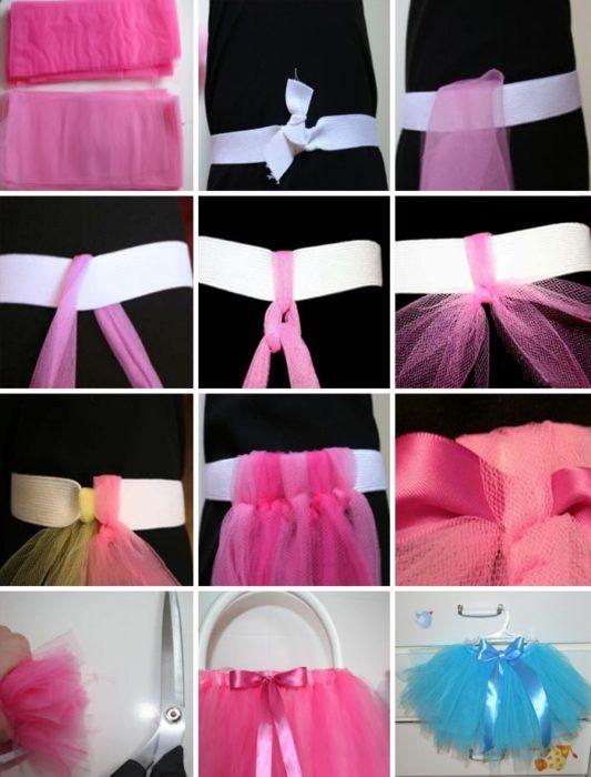 Как сшить юбку туту из фатина своими руками фото