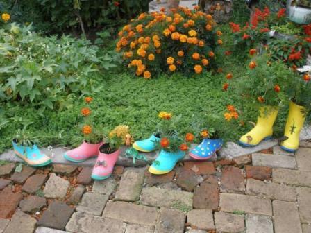 Дача сад огород: цветники