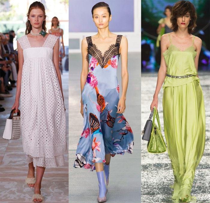 Мода весна лето 2017 тенденции: бельевой стиль