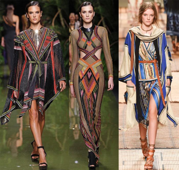 Мода 2017 года фото: необычная полоска