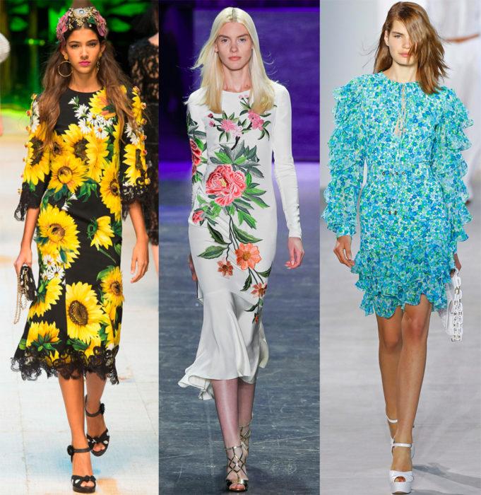 Модные цвета 2017 года: цветы