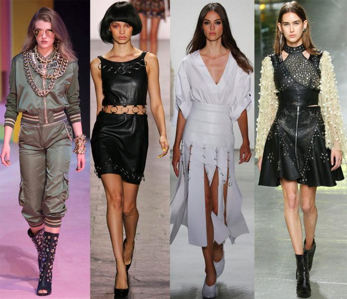 Мода весна лето 2017 тенденции: платья с декором