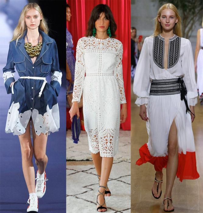Мода весна лето 2017 тенденции: платья с поясом