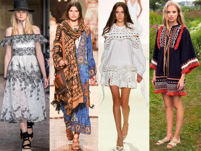 Мода весна лето 2017 тенденции: платье рубашка