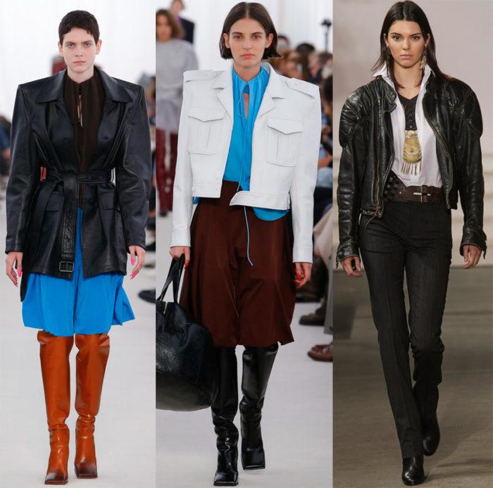 Мода 2017 года фото курток: широкие плечи
