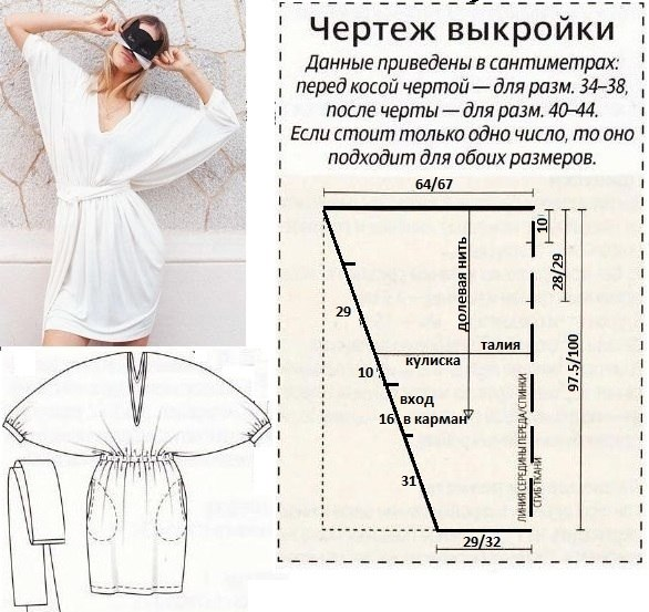 Выкройки платьев для начинающих (1)