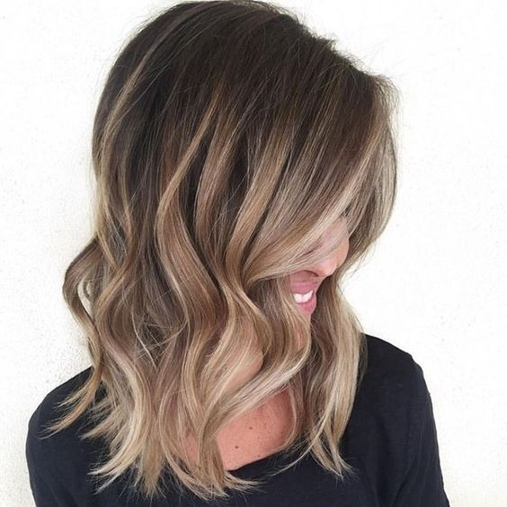 Модный цвет волос 2017: сомбре
