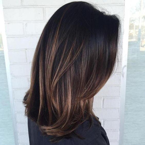 Модный цвет волос 2017: балаяж