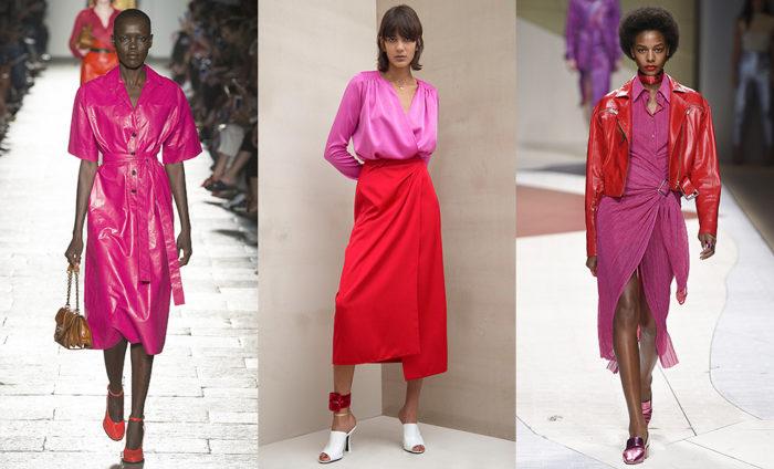 Модные цвета 2017 года: розовый с красным
